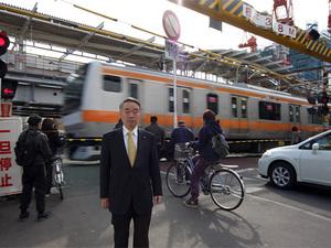 JR中央線連続立体交差事業の画像