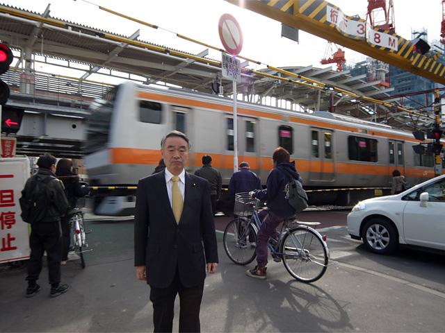 JR中央線連続立体交差事業