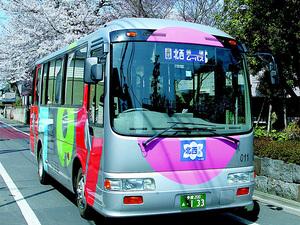 コミュニティバス関連法推進の画像