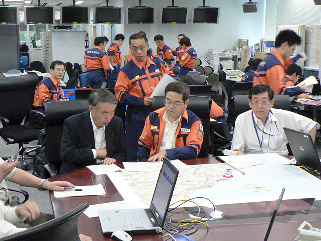 能登・中越沖地震、緊急対策