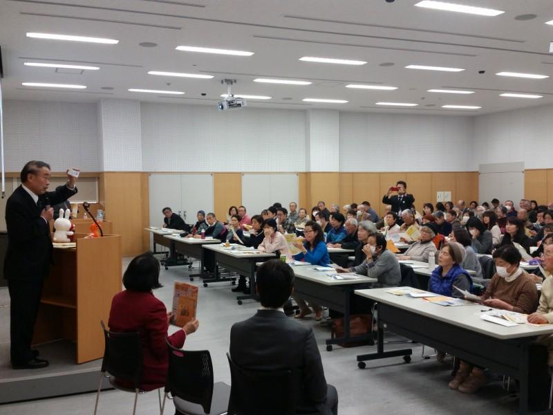 「マイナンバー詐欺に気を付けて-三鷹市で開催の認知症勉強会に合わせ」の画像