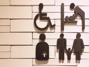 東京2020パラリンピックに向けて車椅子トイレの整備をの画像