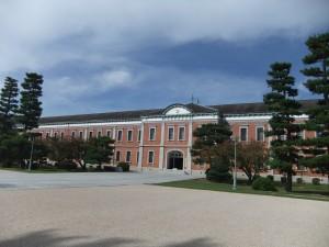 海軍兵学校の象徴、赤レンガ校舎