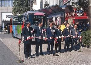 ムーバスの開業式